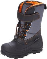 Tundra Black & Oranfe Nova Snow Boot