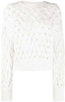 Brunello Cucinelli Open Chunky Knit Jumper
