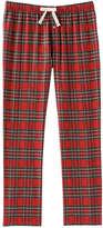 Joe Fresh Men's All Over Print Sleep Pant, Carmine Red (Size L)