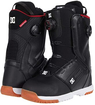 DC Control Dual BOA(r) Snowboard Boots (White) Men's Snow Shoes