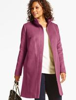 Talbots Plush Wool Coat
