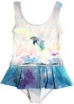 Stella McCartney Dolphin Print Lycra Bathing Suit