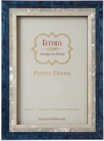 Eccolo Made in Italy Marquetry Wood Frame, Studio Wood, Holds a 5 x 7-Inch Photo