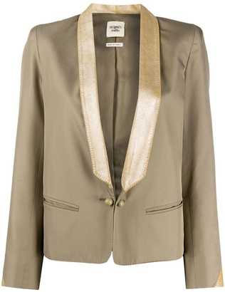 Hermes 2000s Pre-Owned Shawl Lapel Jacket
