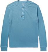 J.crew - Garment-dyed Slub Cotton-jersey Henley T-shirt