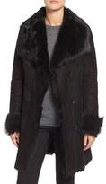 Women's Hiso Genuine Toscana Shearling Coat