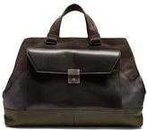 Bottega Veneta Contrast-panel Leather Holdall