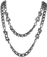 Stephen Webster Silver Sapphire 42In Necklace