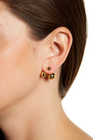Kate Spade Gold Plated Double Bauble Ear Jackets