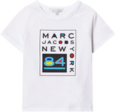Little Marc Jacobs White Branded NY Tee