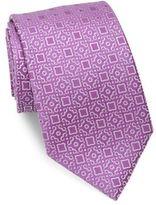 Charvet Large Pattern Silk Tie