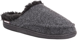 Muk Luks Men's Faux-Wool Clog Slippers
