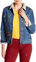 Mavi Jeans Katy Floral Embroidered Denim Jacket
