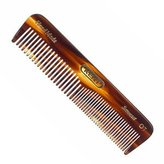 "Kent AOT- Men's Coarse & Fine Toothed Small 113mm/4.45"" Handmade Pocket Comb"