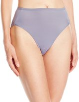 Warner's Warners Women's No Wedgies No Worries Hi Cut Brief Panty