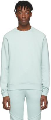 John Elliott Green Raglan Crew Sweatshirt