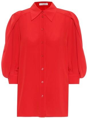 Givenchy Silk-crepe de chine blouse