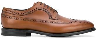 Church's brogue detailing derby shoes