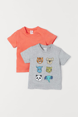 H&M 2-pack T-shirts - Orange