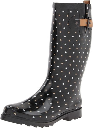 Chooka Women's Classic Dot Rain Boot