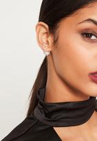 Missguided White Pearl Stud Earrings