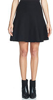 1 STATE Fit-and-Flare Mini Skirt