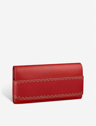 Cartier Guirlande de long leather clutch