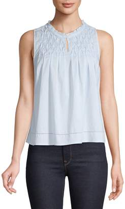 Levi's Teagan Cotton Ruffle Top