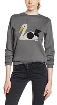 Orla Kiely Women's Towelling Sweatshirt Jumper