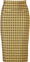 No.21 Gold and Black Patterned Skirt