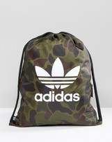 adidas Gym Backpack In Camo BK7213