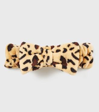 New Look Leopard Print Beauty Headband