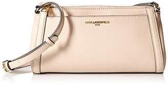Karl Lagerfeld Paris Womens Willow Slim Crossbody