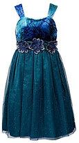 Sweet Heart Rose Plus Size Tie-Dye Dress