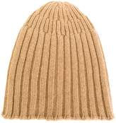 Roberto Collina ribbed beanie hat