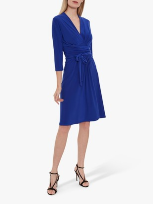 Gina Bacconi Dessa Tie Belt Dress
