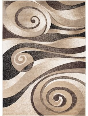 """AllStar Rugs Champagne Rug Rug Size: Rectangle 5'2"""" x 7'2"""""""