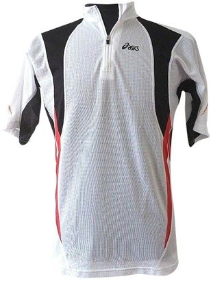 Asics White Synthetic Tops