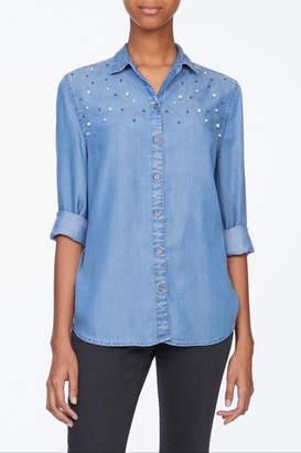 BeachLunchLounge Pearl Denim Shirt