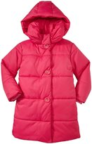 Kate Spade Puffer Coat (Toddler/Kid) - Sweetheart Pink-3T