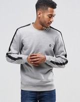 Jack and Jones Sweat with Striped Sleeve