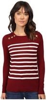 Kensie Cotton Blend Sweater KS9K5548