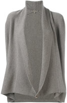 N.Peal cashmere shawl collar cardigan - women - Cashmere - S
