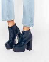 Asos ELLEN Platform Ankle Boots