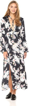 Somedays Lovin Women's Mystic Nights Floral Print Midi Dress