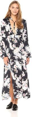 Somedays Lovin Women's Mystic Nights Floral Print Midi Dress