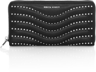 Rebecca Minkoff Large Studded Leather Wallet
