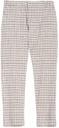 AILANTO Checked Trousers