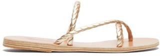 Ancient Greek Sandals Mahi Braided Leather Sandals - Womens - Gold