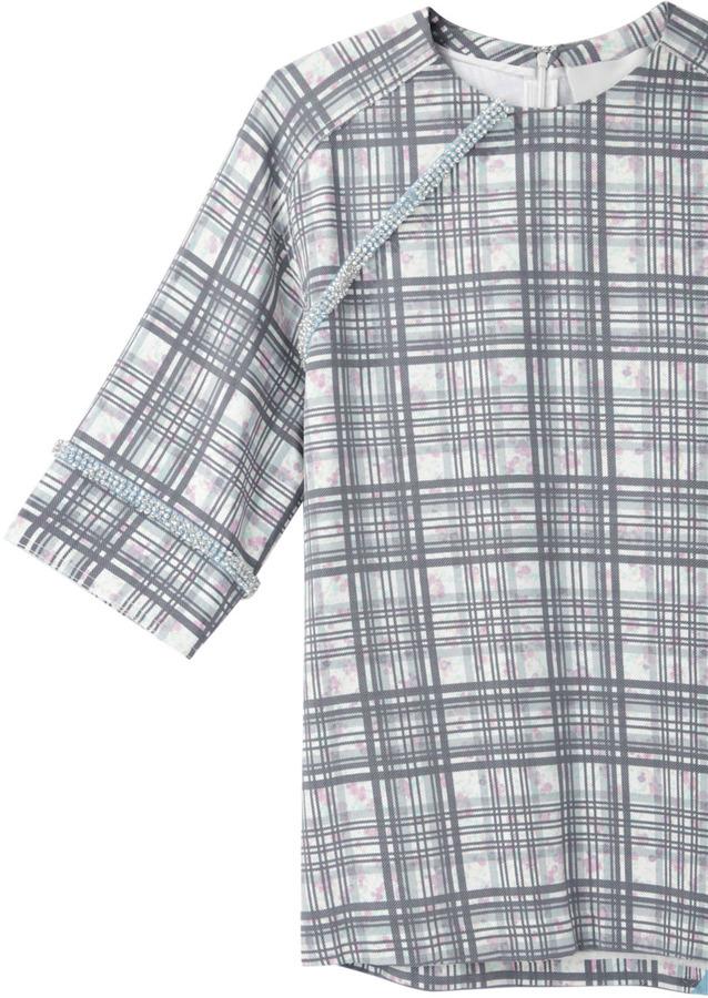 3.1 Phillip Lim beaded silk t-shirt